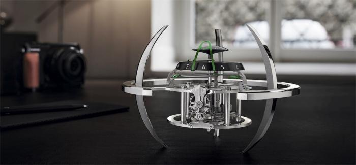 MB&F + L'Epée 1839之星际舰队座钟系列推出全新Starfleet Explorer星际探险家版本