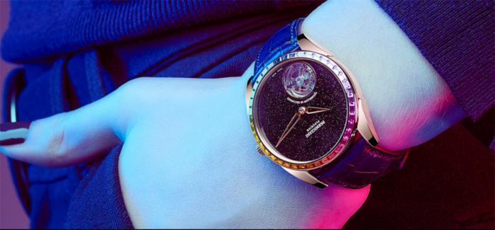帕玛强尼发布Tonda 1950陀飞轮彩虹圈腕表