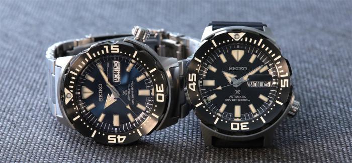 独家点评精工Prospex SRPD25和SRPD27 Monster自动机械潜水表