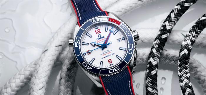 欧米茄正式成为第36届美洲杯帆船赛官方计时
