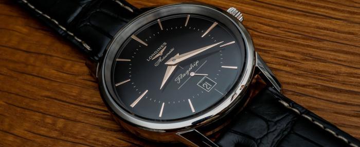 浪琴Heritage系列Flagship黑盘腕表——爆款正装表预定?