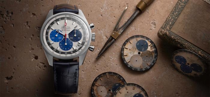 真力时推出CHRONOMASTER旗舰系列工坊专售复刻版腕表