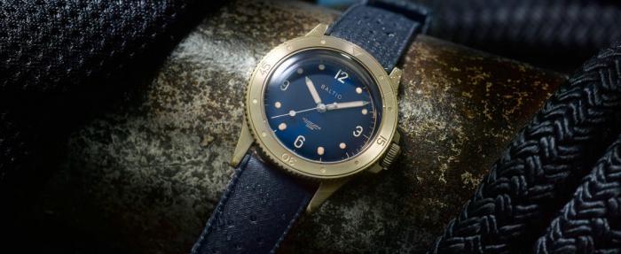 Baltic Aquascaphe青铜腕表——材质是青铜颜值是王者