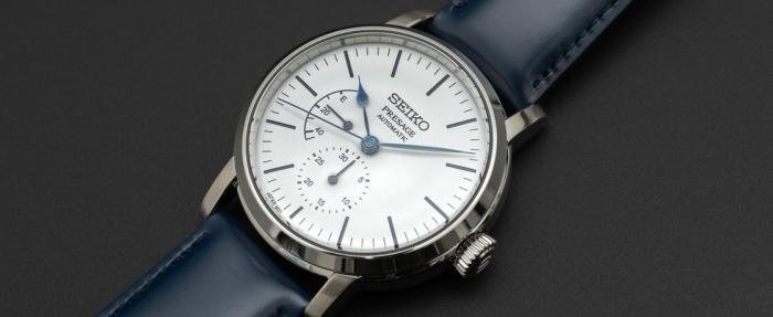 精工Presage系列SPB161腕表——不到一万元的珐琅盘手表