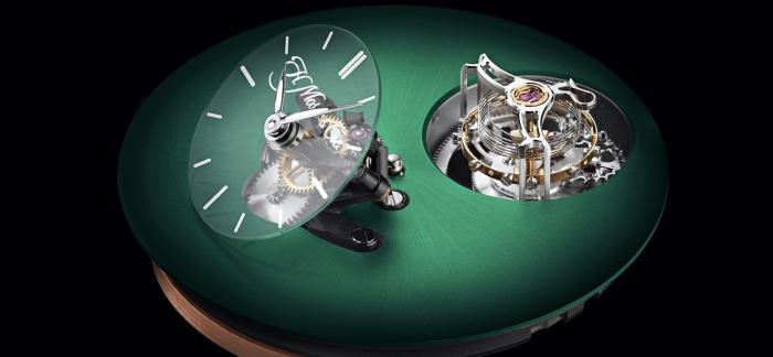H. Moser & Cie.亨利慕时与MB&F合作推出两款高复杂腕表