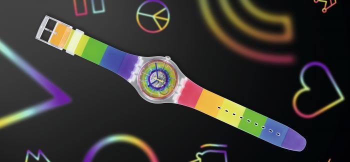 斯沃琪发布 #OPENSUMMER新品腕表