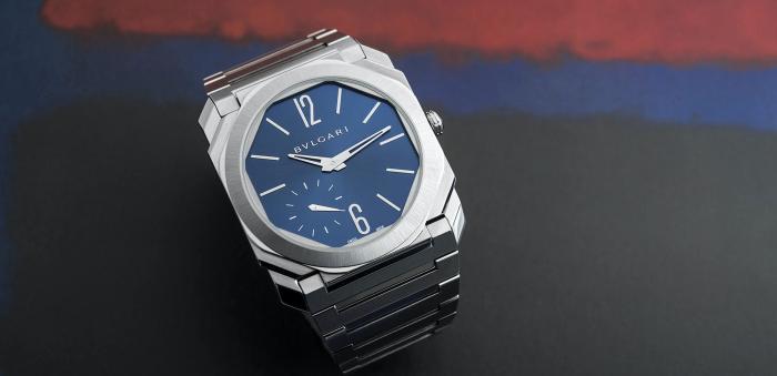宝格丽的新款Octo Finissimo S:世界上防水能力达100m的最薄的腕表