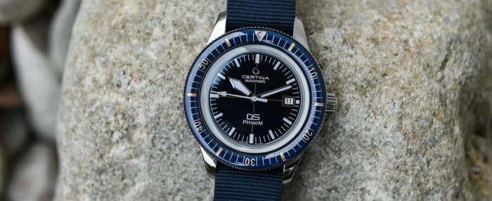 雪铁纳DS PH200M Blue腕表——品质提升,价格依然实惠