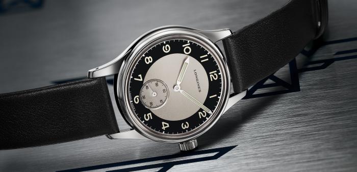 浪琴表经典复刻系列—燕尾服腕表,回溯1940年代后期的派对热潮