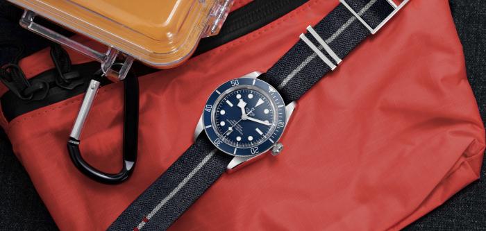 """帝舵推出碧湾 1958型  """"海军蓝""""款式"""