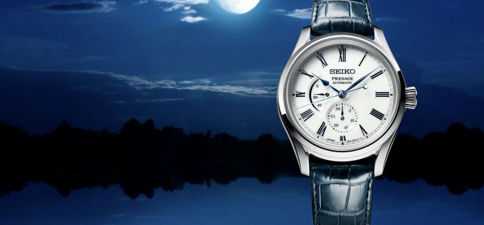 日式百年工艺呈现「水月」之景:精工Presage有田烧限量腕表