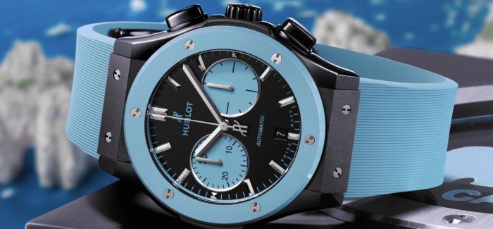 HUBLOT宇舶发布第三枚经典融合系列Capri限量版腕表