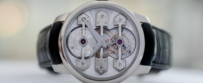 芝柏La Esmeralda三金桥陀飞轮腕表——陀飞轮艺术的启蒙