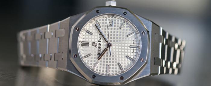 爱彼皇家橡树系列34mm腕表——尺寸虽小派头十足