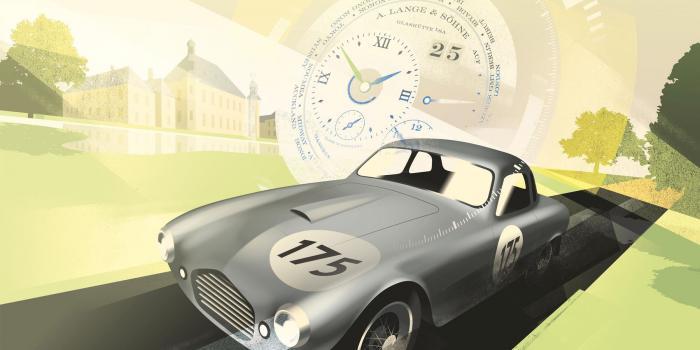 朗格x Concours虚拟:襄助联合国儿童基金会的经典汽车比赛