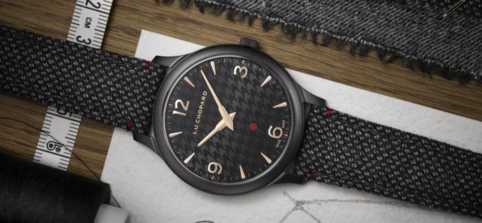 千鸟格纹设计尽显绅士风范:萧邦L.U.C XP Il Sarto Kiton腕表