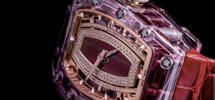 Richard Mille理查德·米勒发布RM 07-02蓝宝石水晶自动上链腕表