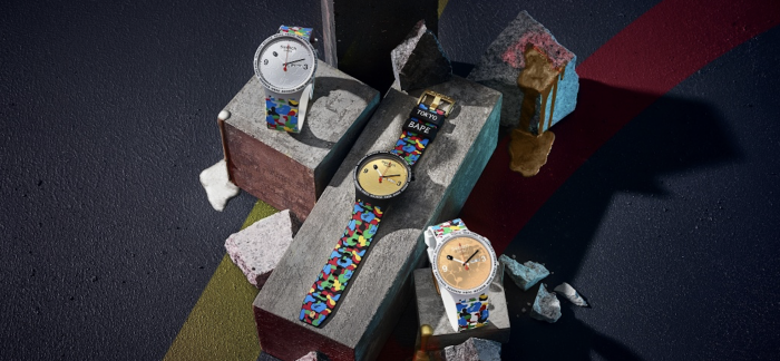 斯沃琪 X BAPE 再度携手发布联名腕表