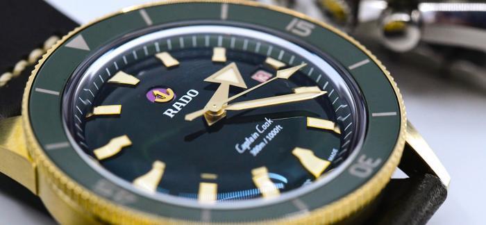 独家点评雷达库克船长自动机械青铜腕表