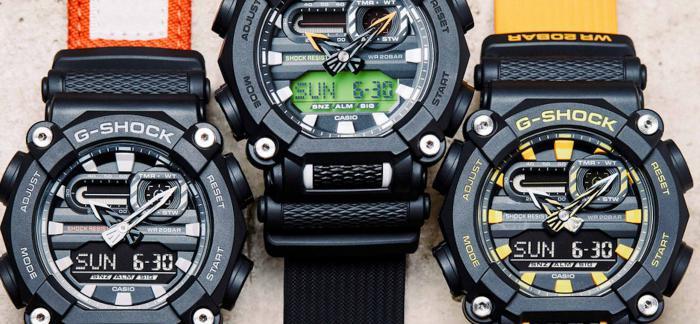 Casio全新G-Shock GA-900,一粒电池可使用7年