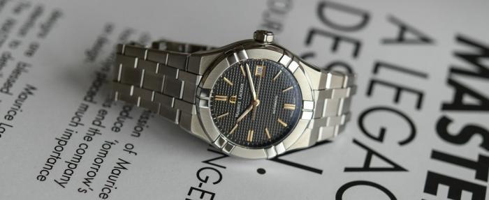 艾美Aikon系列39mm自动腕表——价格适中,男女皆宜
