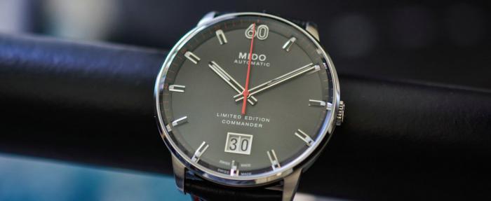 美度指挥官系列'60周年限量版'大日历腕表——最实惠的大日历