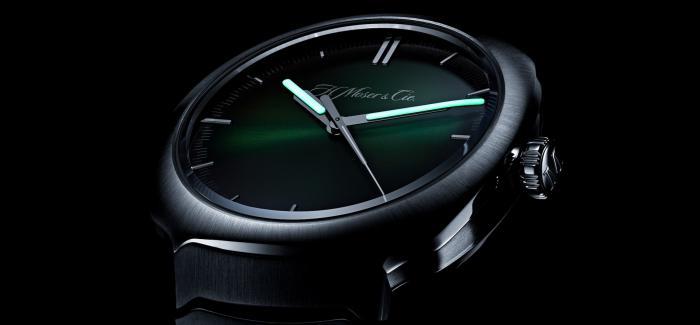 H. MOSER & CIE.亨利慕时:巧妙的一体式精钢表带款
