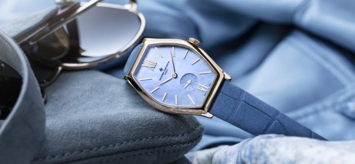 江诗丹顿发布MALTE马耳他系列烟青色中国限 量款腕表