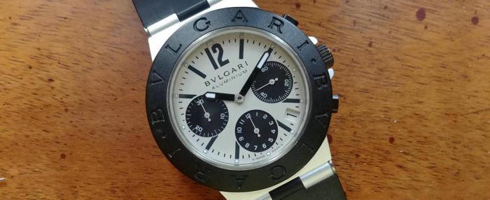 宝格丽BVLGARI BVLGARI Aluminium腕表——高街气场