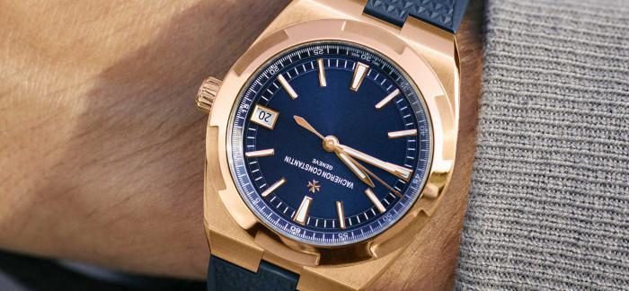 江诗丹顿推出OVERSEAS纵横四海系列粉红金自动上链腕表