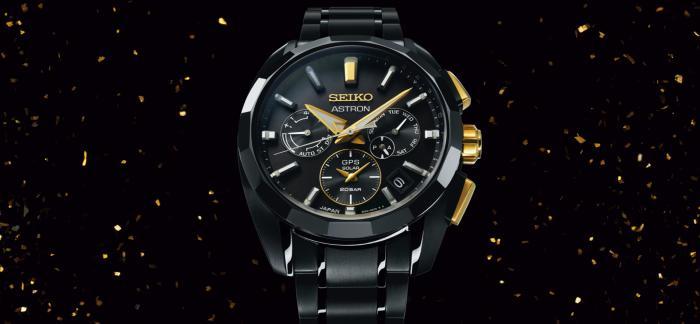 SEIKO精工发布Astron GPS太阳能服部金太郎160周年限量版腕表
