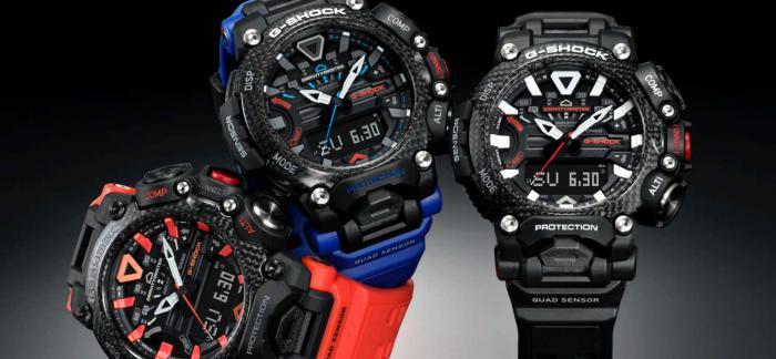 卡西欧推出专为航空人士打造的G-Shock Gravitymaster GRB200腕表
