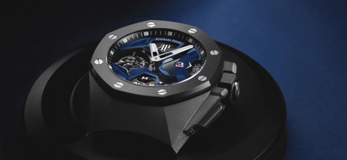 2020款爱彼皇家橡树飞行陀飞轮GMT概念腕表