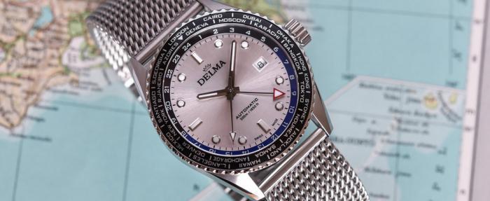 Delma Cayman系列世界时腕表——艺高'表'胆大