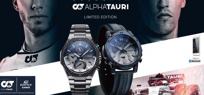 卡西欧与Scuderia AlphaTauri推出EDIFICE联名腕表
