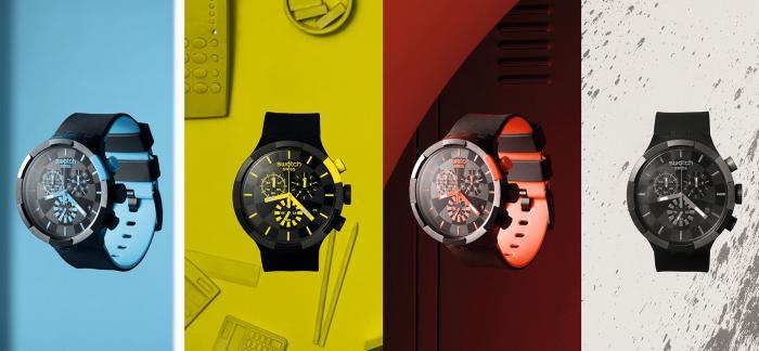 斯沃琪发布BIG BOLD CHRONO 腕表系列