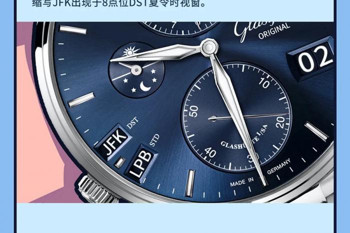 格拉苏蒂原创议员世界时腕表怎么用?这篇漫画教会你 丨 徐不工聊biao