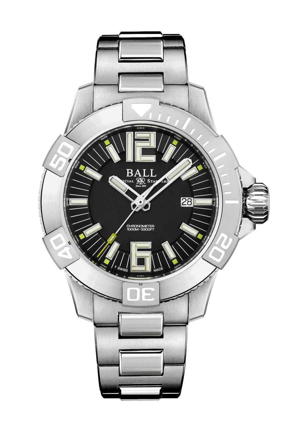 波尔表BALL Watch Engineer Hydrocarbon DeepQ