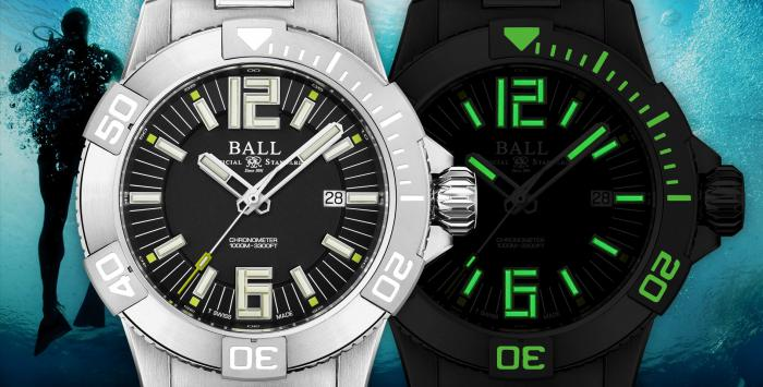 波尔表BALL Watch Engineer Hydrocarbon DeepQUEST II