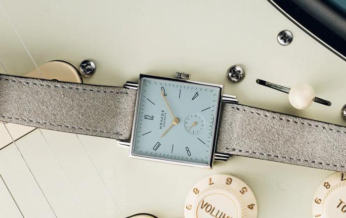 """腕上""""贝多芬"""",NOMOS Tetra系列方形腕表 丨 大腕钟表新媒体"""