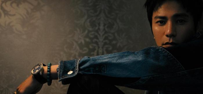 陈坤佩戴全新万宝龙1858系列南北半球世界时腕表 梅斯纳尔限量款(全球262枚)