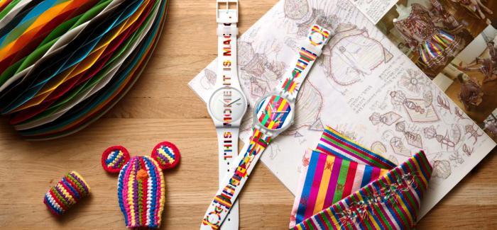 斯沃琪携手韩国艺术家DOROTHY M. YOON推出两款艺术家特别腕表