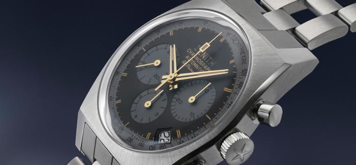 PHILLIPS拍卖真力时CHRONOMASTER旗舰系列鲁邦三世复刻版腕表