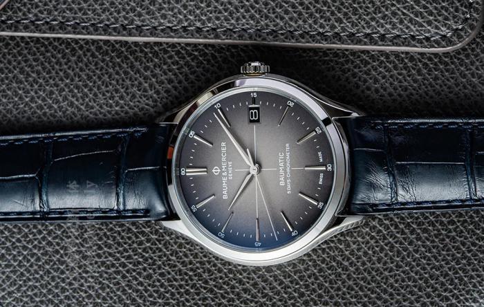 两万元正装商务,TOP3里少不了这只名士Baumatic,白、蓝、灰三色选 丨 大腕钟表新媒体