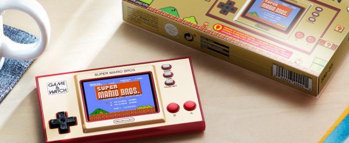 """任天堂Game&Watch马里奥兄弟35周年纪念版""""手表""""——带给你最初的感动"""