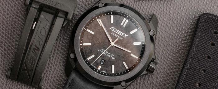 表扣也能做出花儿之Formex手表的四种表带微调装置