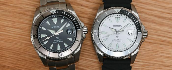 精工Prospex Diver'200m SPB189J1和SPB191J1腕表——'将军'归来