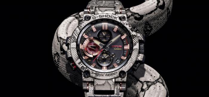"""卡西欧发布G-Shock x Wildlife联名限量款腕表""""Rock Python"""""""