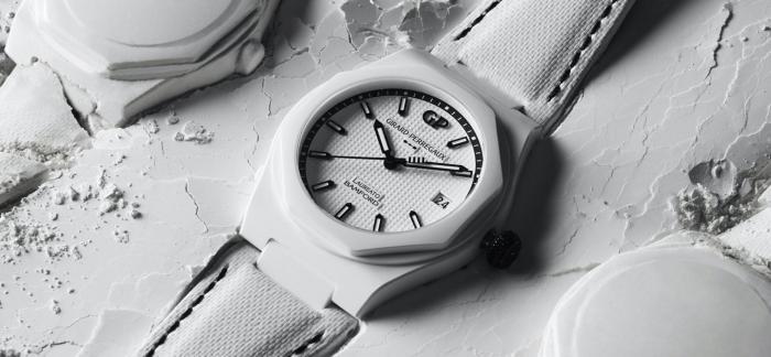 芝柏与Bamford合作推出Laureato Ghost白色陶瓷限量版腕表