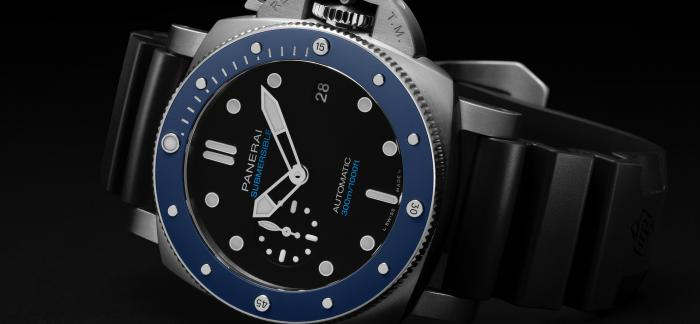 沛纳海推出全新Submersible Azzurro潜行系列腕表PAM01209